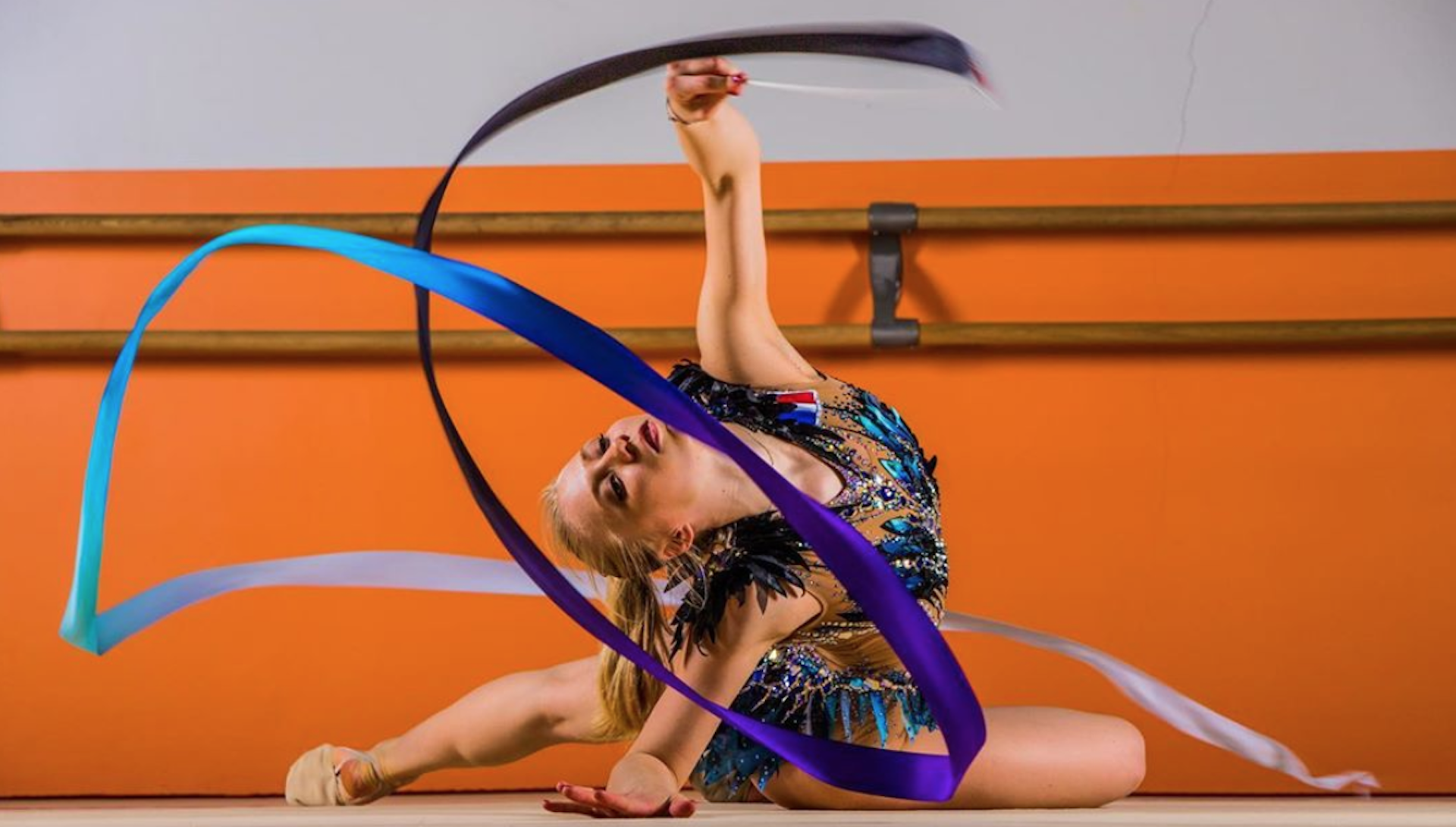 Kseniya Moustafaeva, figure de la gymnastique rythmique en France