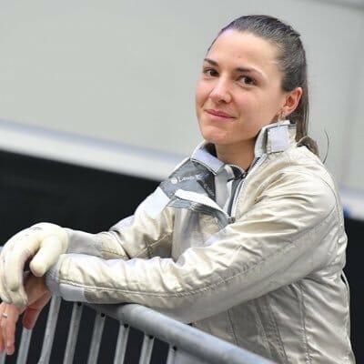 Beside Sport - Charlotte Lembach, une sabreuse au clair -  -