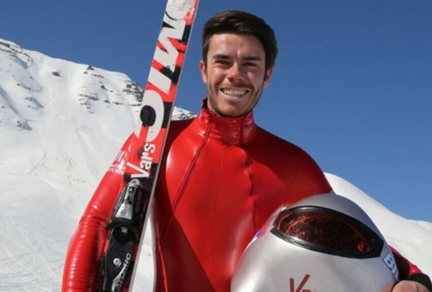 Beside Sport - Simon Billy, un skieur de vitesse « Grand V » -  -