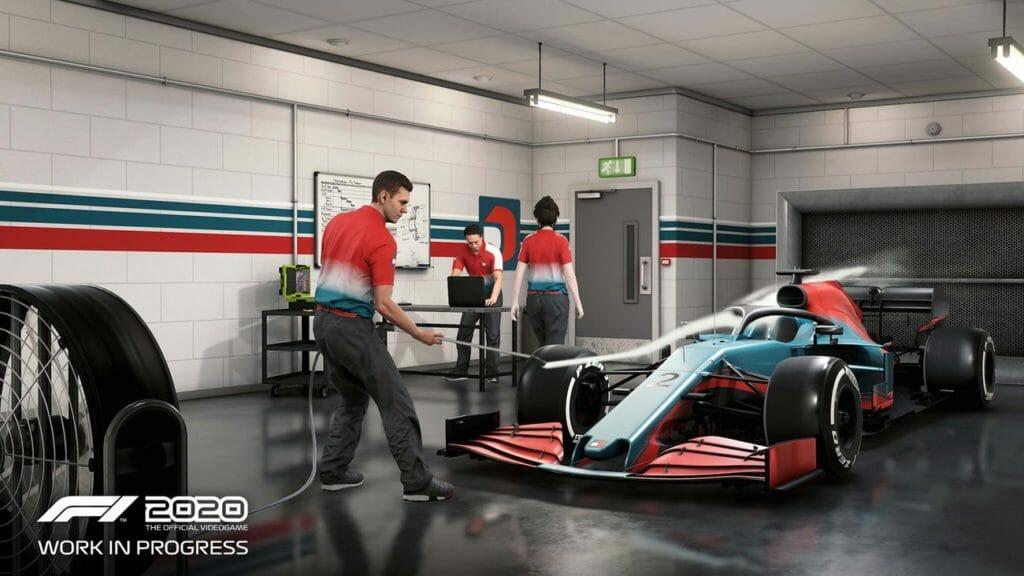Beside Sport - F1 2020, le jeu qui continue à donner à la Formule 1 ses lettres de noblesse - La vue du cockpit avec le halo de sécurité...un classique désormais -
