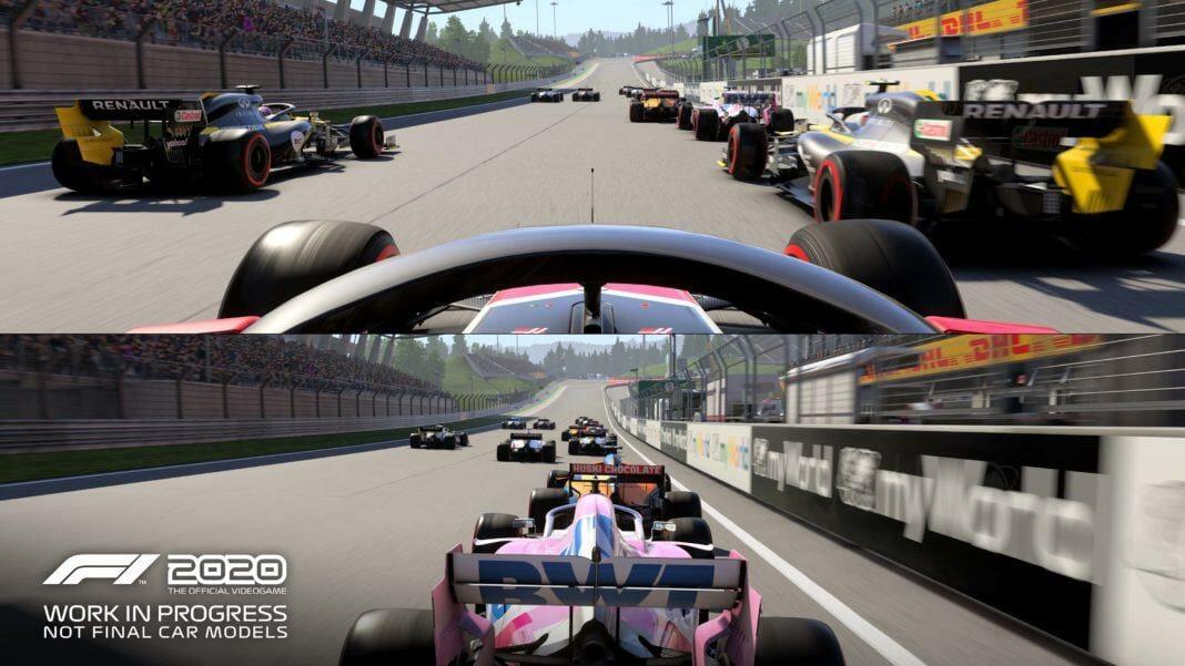 Beside Sport - F1 2020, le jeu qui continue à donner à la Formule 1 ses lettres de noblesse - L'écran splité fait son retour...et ce n'est pas pour nous déplaire -