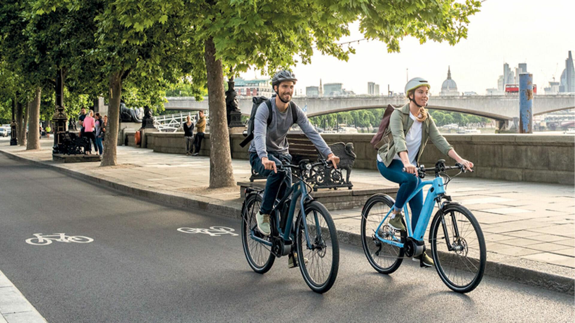 Sessions de sport avec vélo électrique