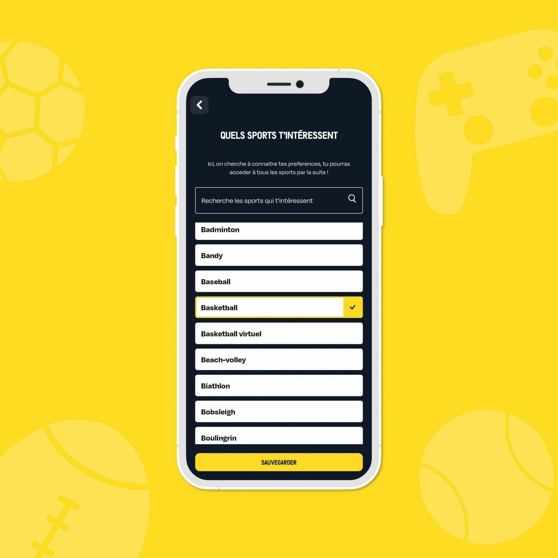 Beside Sport - Winited: L'app de paris que les fans de Sport attendaient -  -