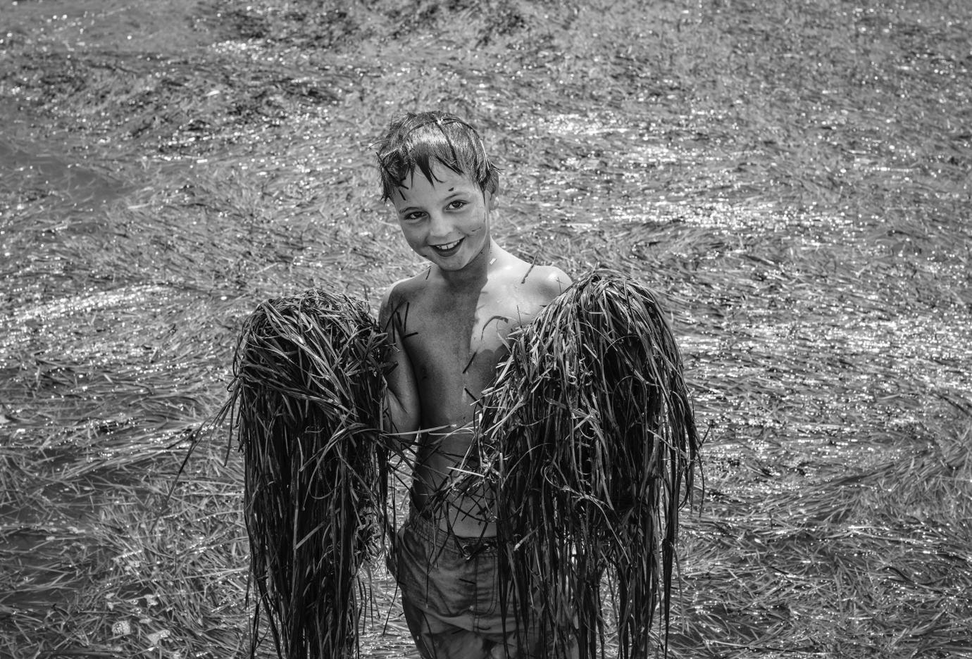 Beside Sport - Nikos Aliagas face à la mer - Angelo, l'ange de la lagune à Messolongi ©Nikos Aliagas -