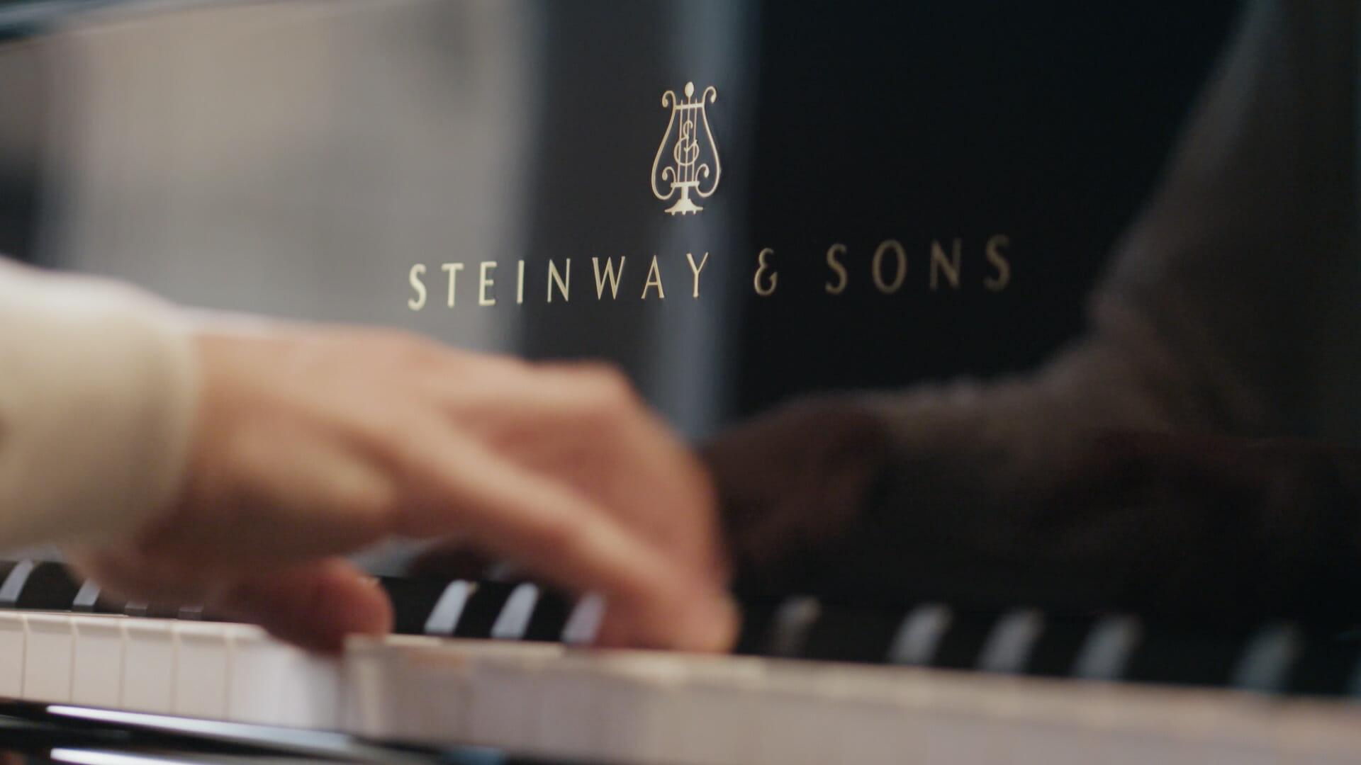 Vice Versa: Gilles Simon et Gaspard Dehaene chez Steinway & Sons -