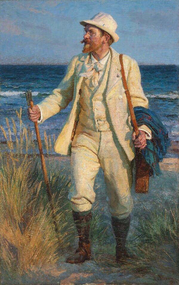 Beside Sport - Krøyer, le peintre danois «incrøyable» - Peder Severin Krøyer par Laurits Tuxen -