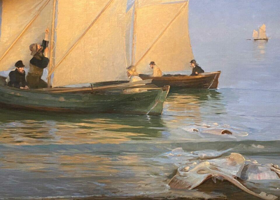 Beside Sport - Krøyer, le peintre danois «incrøyable» -  -