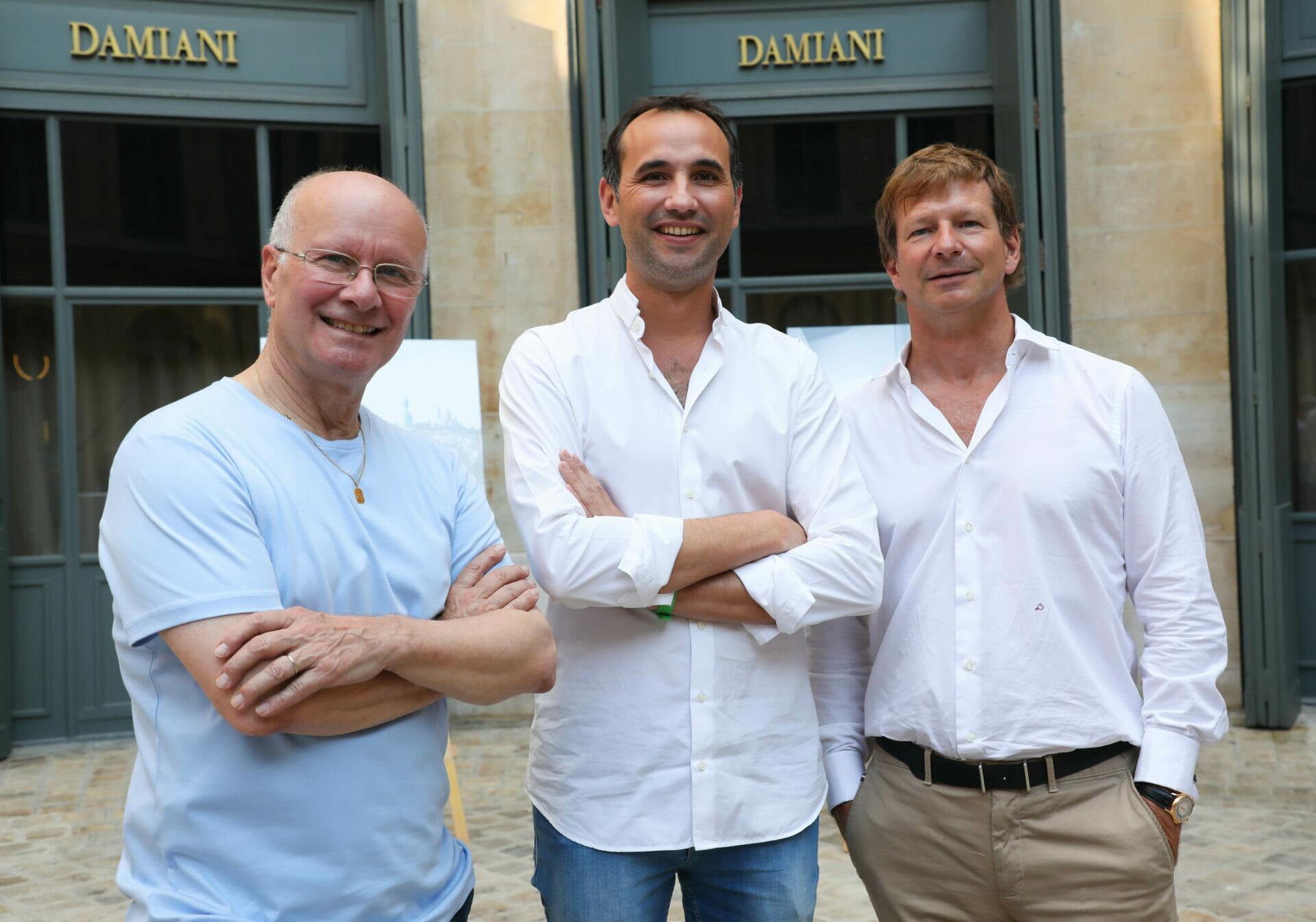 Beside Sport - La Colonne Vendôme prise sous tous les angles - Jean-François Fortchantre, François Perret, Lorenz Bäumer (De gauche à droite) -