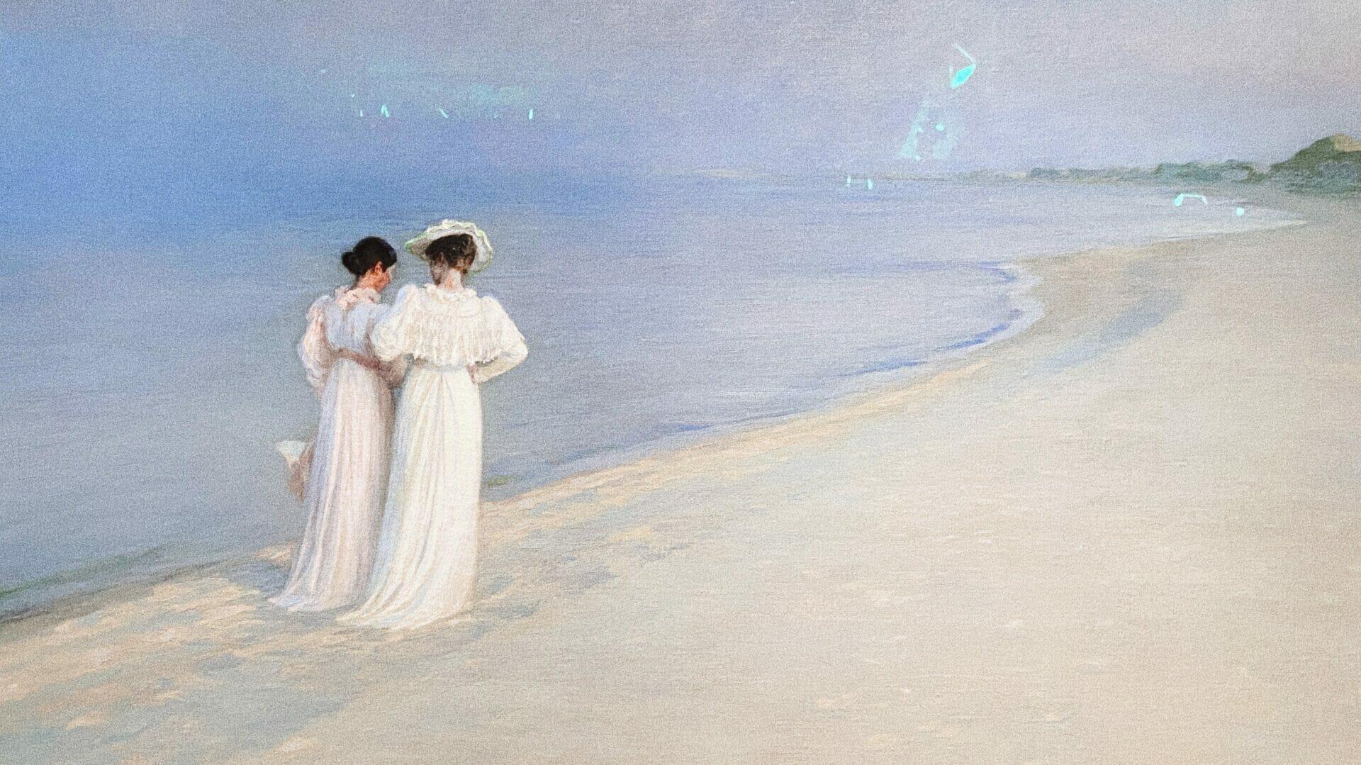 Krøyer, le peintre danois «incrøyable»