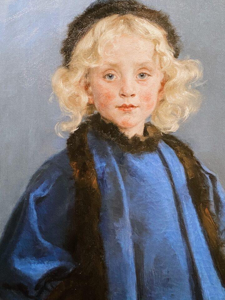 Beside Sport - Krøyer, le peintre danois «incrøyable» - Portrait de Tove Benzon -