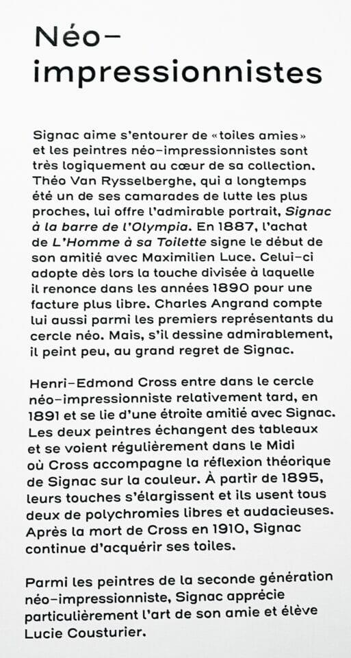 Beside Sport - Les 10 commandements de «Signac collectionneur» -  -