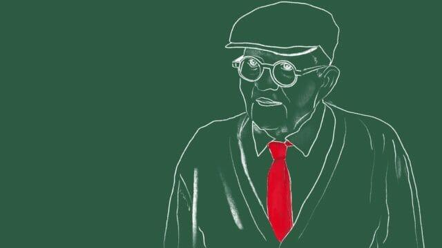 Beside Sport - L'homme David Hockney, au tableau! -